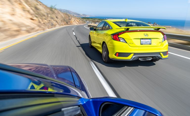 2019 Honda Civic Si Coupe vs 1999 Honda Civic Si Coupe 7