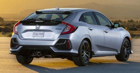 2020 Honda Civic Hatchback Facelift Debuts 2