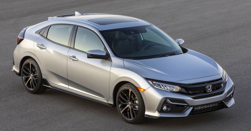 2020 Honda Civic Hatchback Facelift Debuts 10