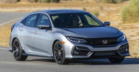2020 Honda Civic Hatchback Facelift Debuts 4