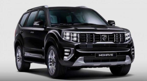 2020 Kia Mohave SUV Teased 1