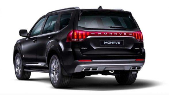 2020 Kia Mohave SUV Teased 2