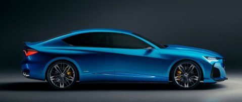 The Stunning Acura Type S Concept Debuts 3