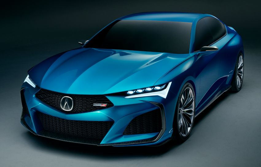 The Stunning Acura Type S Concept Debuts 1