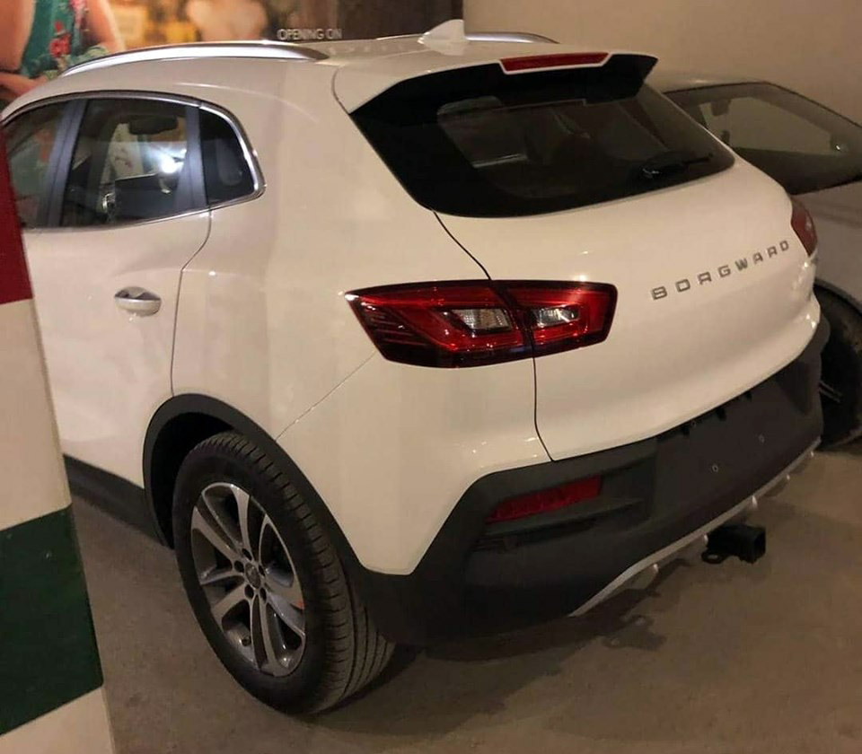 Borgward BX5 SUV Spotted in Lahore 3