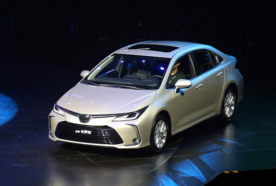 All New Toyota Corolla Launched in China 6