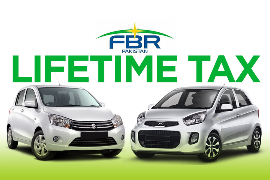 FBR to Recover Lifetime Tax from Small Cars Owners 8
