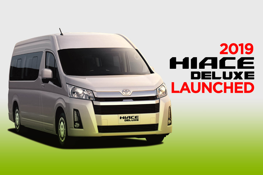 All New Toyota HiAce Deluxe Launched 2