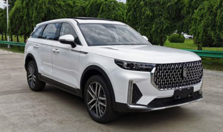 First Images of FAW's Flagship Bestune T99 SUV 2