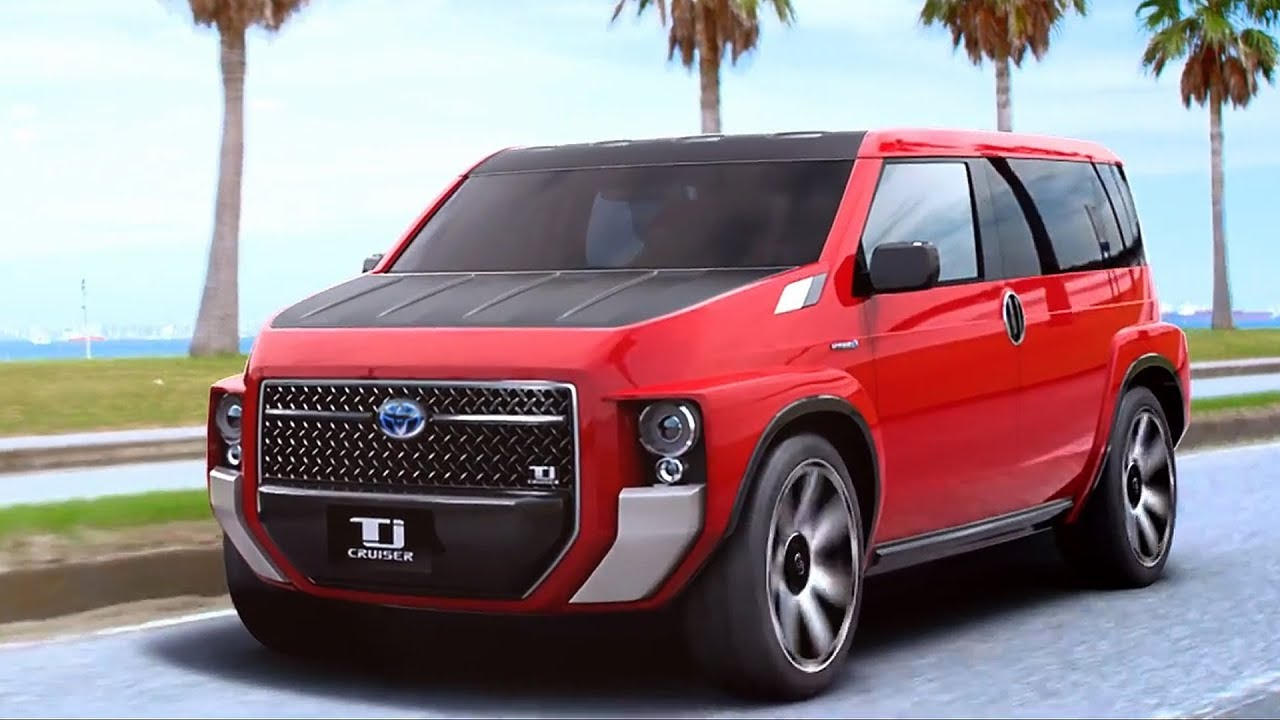 Toyota's Macho TJ Cruiser Concept to Go into Production 1