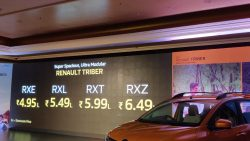 Renault Triber Launched in India Priced at INR 4.95 Lac 1