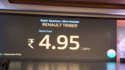 Renault Triber Launched in India Priced at INR 4.95 Lac 2