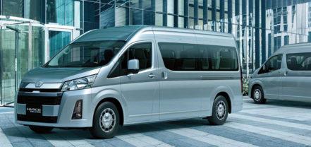 History of Toyota HiAce 34