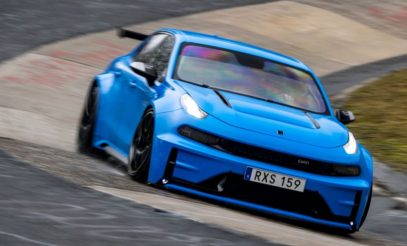 Lynk & Co 03 Cyan Concept Breaks Nurburgring 4-door and FWD Records 4