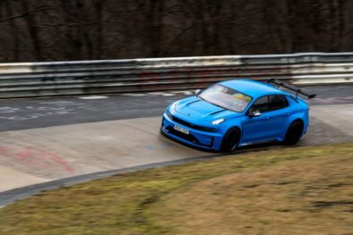 Lynk & Co 03 Cyan Concept Breaks Nurburgring 4-door and FWD Records 8