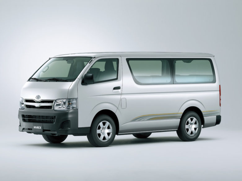 History of Toyota HiAce 25