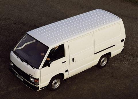 History of Toyota HiAce 16