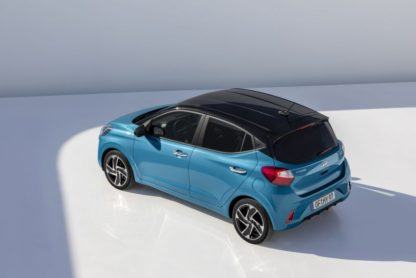 Hyundai Unveils New i10 Ahead of Frankfurt 2