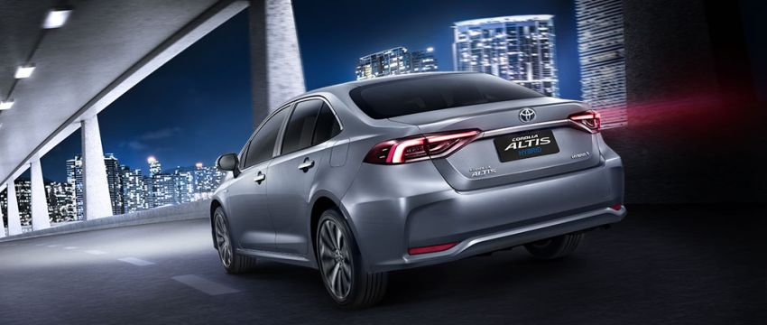All New Toyota Corolla Altis Launched in Thailand 11