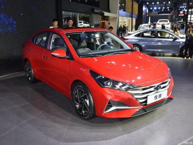 2020 Hyundai Verna Facelift Break Covers at Chengdu Auto Show 2