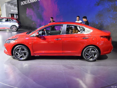 2020 Hyundai Verna Facelift Break Covers at Chengdu Auto Show 4