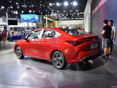 2020 Hyundai Verna Facelift Break Covers at Chengdu Auto Show 5