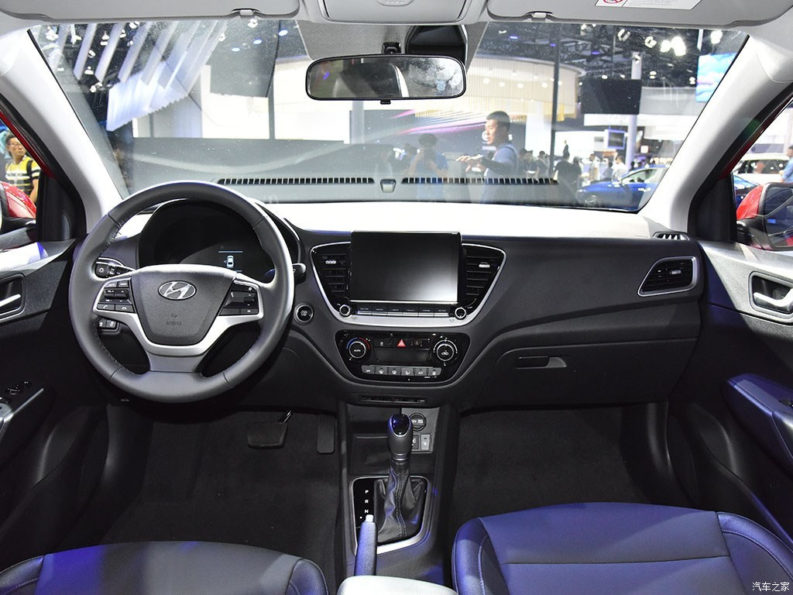 2020 Hyundai Verna Facelift Break Covers at Chengdu Auto Show 12