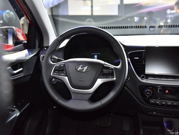 2020 Hyundai Verna Facelift Break Covers at Chengdu Auto Show 16