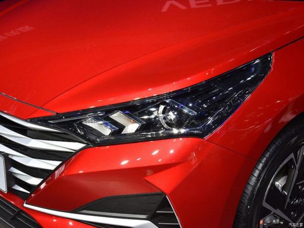 2020 Hyundai Verna Facelift Break Covers at Chengdu Auto Show 11