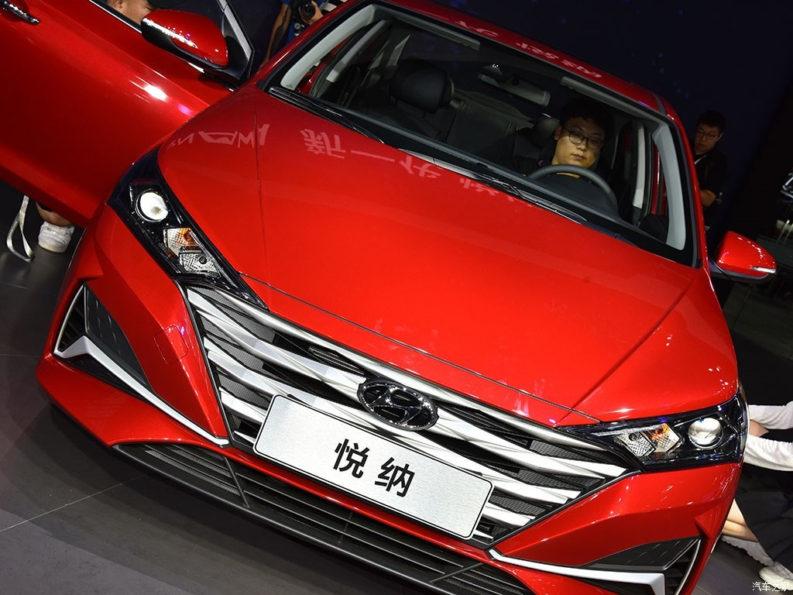 2020 Hyundai Verna Facelift Break Covers at Chengdu Auto Show 1