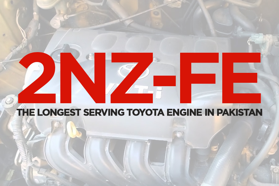 2NZ-FE the Longest Serving Toyota Engine in Pakistan 1