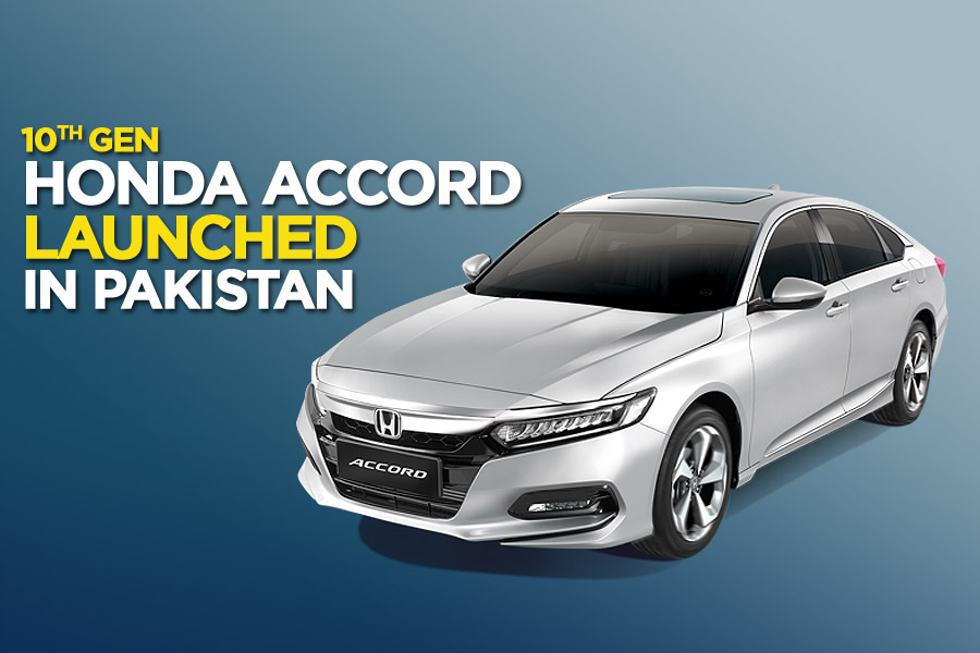 Honda Launches 10th gen Accord in Pakistan 3