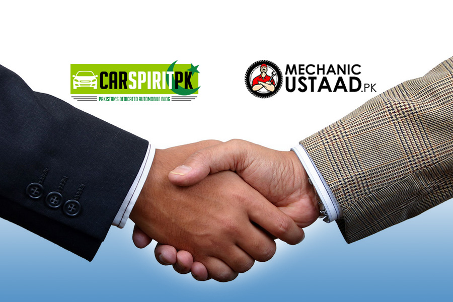 CarSpiritPK Join Hands with MechanicUstaad 1