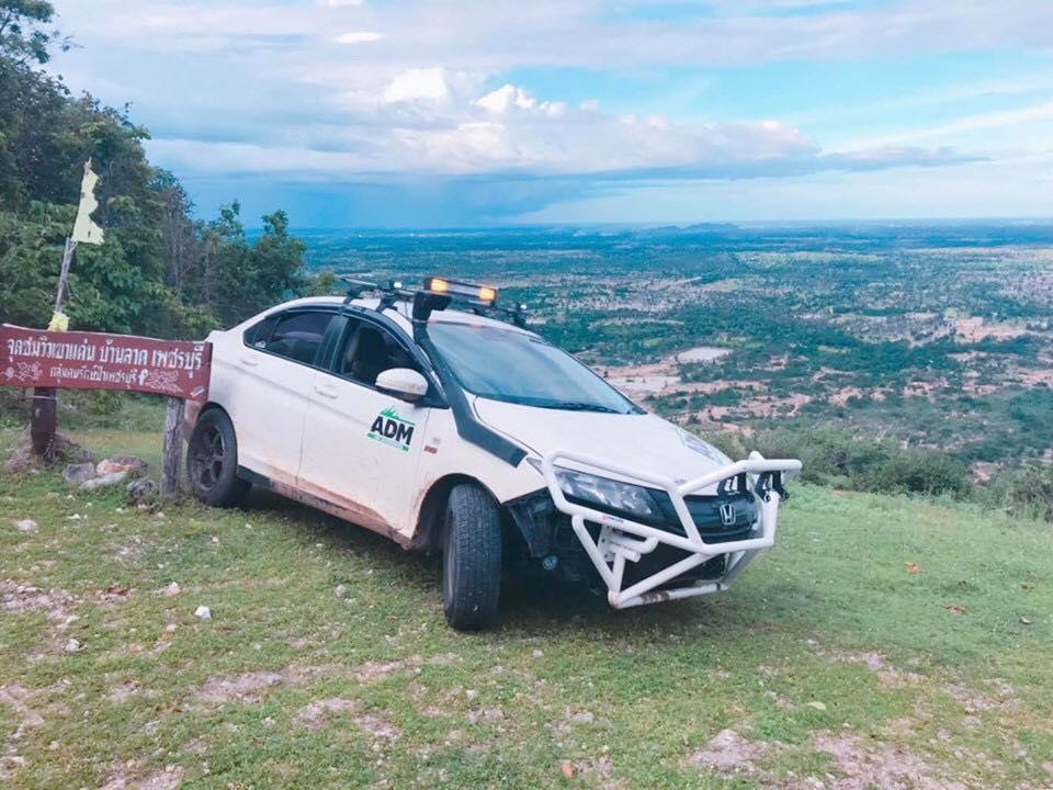 The Honda City Off-Roader 4