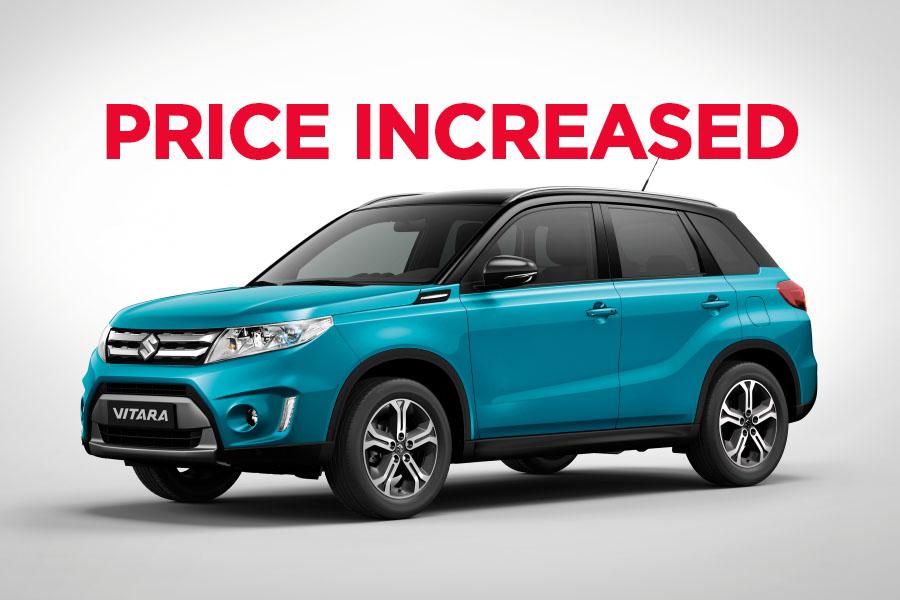 Pak Suzuki Increase Vitara GLX Price 3