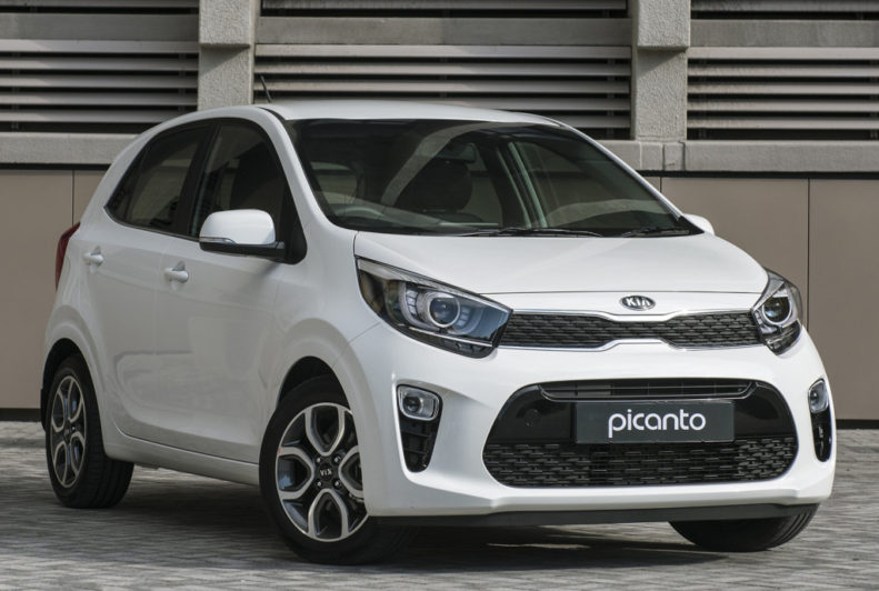3rd gen Kia Picanto Facelift Leaked 4