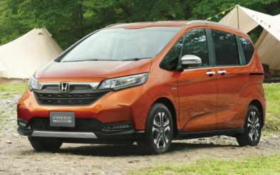 Honda Freed Gets a Facelift and a New Trim 7