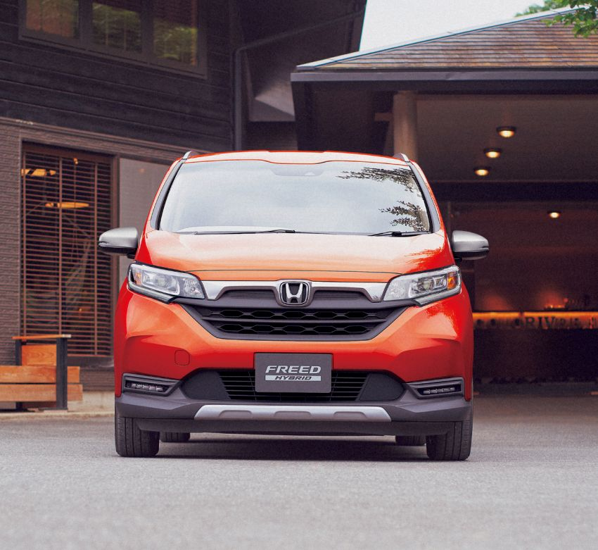 Honda Freed Gets a Facelift and a New Trim 1