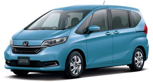 Honda Freed Gets a Facelift and a New Trim 9