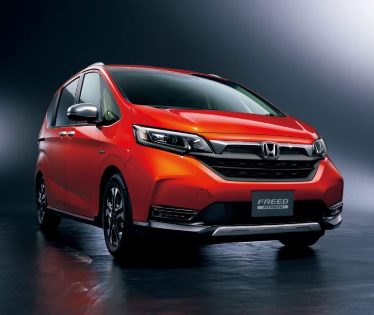 Honda Freed Gets a Facelift and a New Trim 3