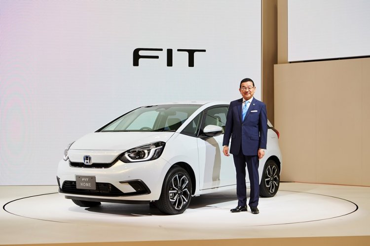 All New Honda Fit/ Jazz Unveiled at 2019 Tokyo Motor Show 5