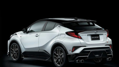 The 2020 Toyota C-HR GR Sport 4