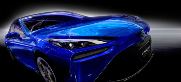 Next Generation Toyota Mirai is a Stunner 7