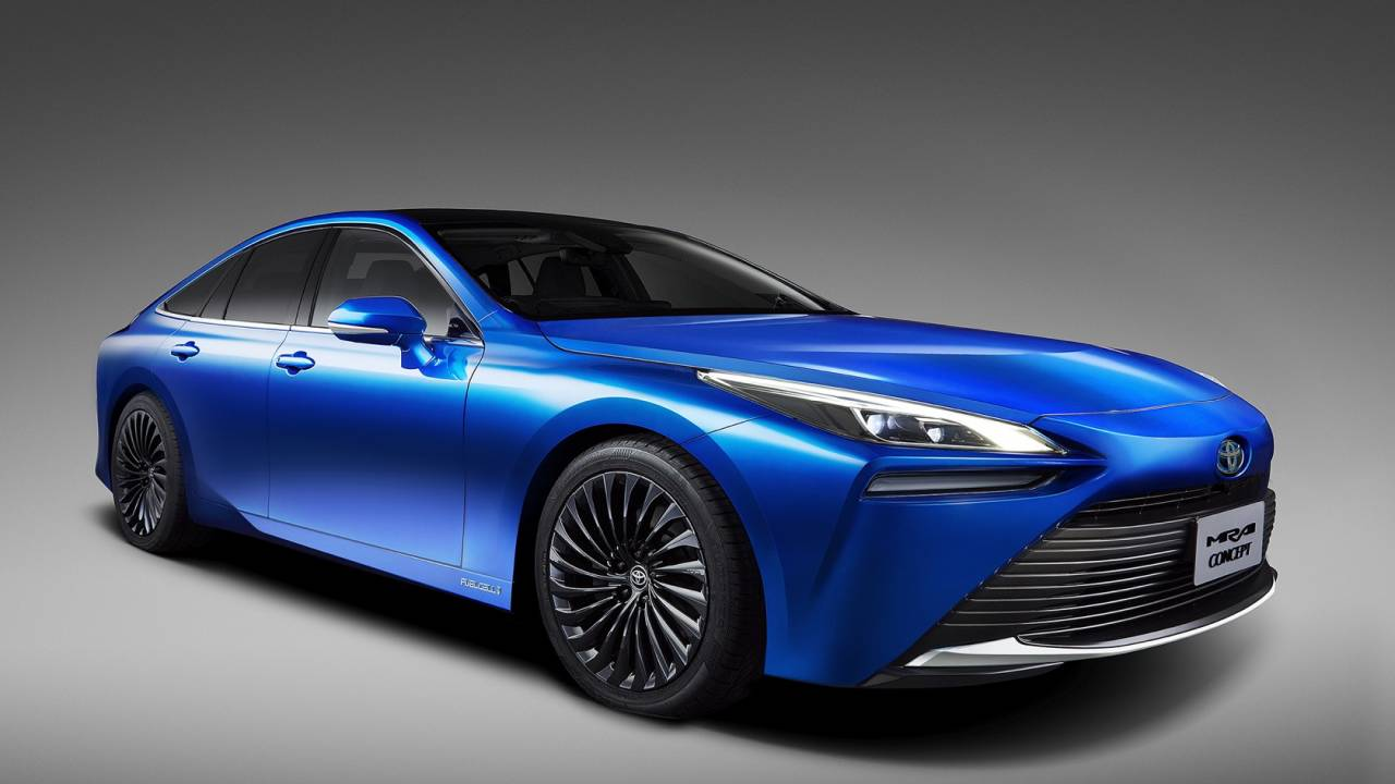 Next Generation Toyota Mirai is a Stunner 4