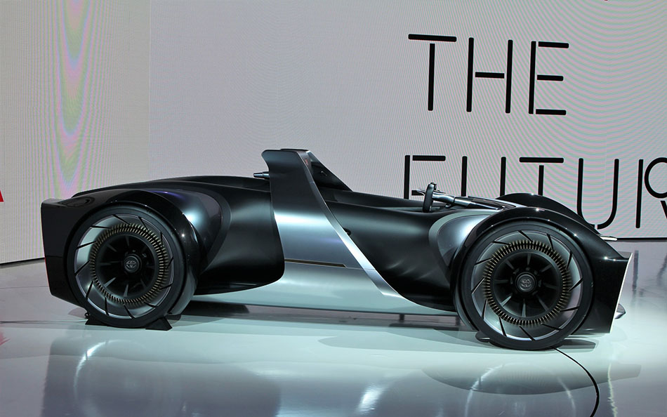 Toyota Unveils e-Racer Concept at 2019 Tokyo Motor Show 10