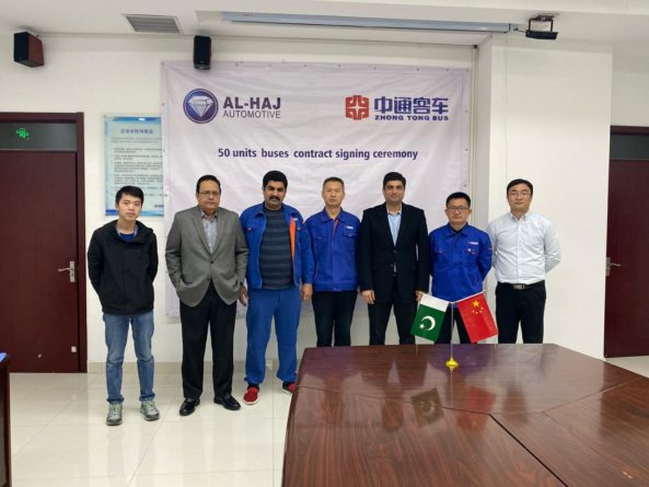 Al-Haj Automotive Join Hands with Zhongtong Bus 2