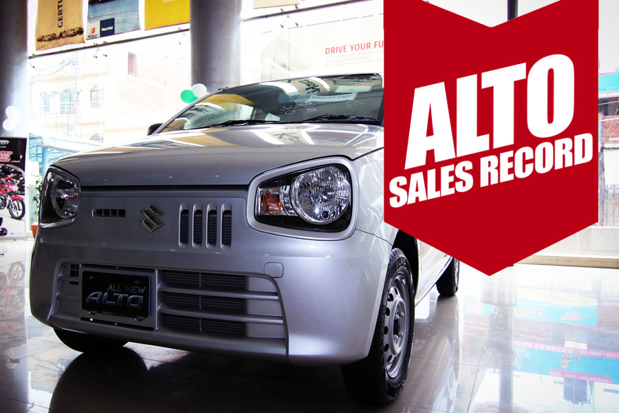 Suzuki Alto Breaks Highest Monthly Sales Record 1