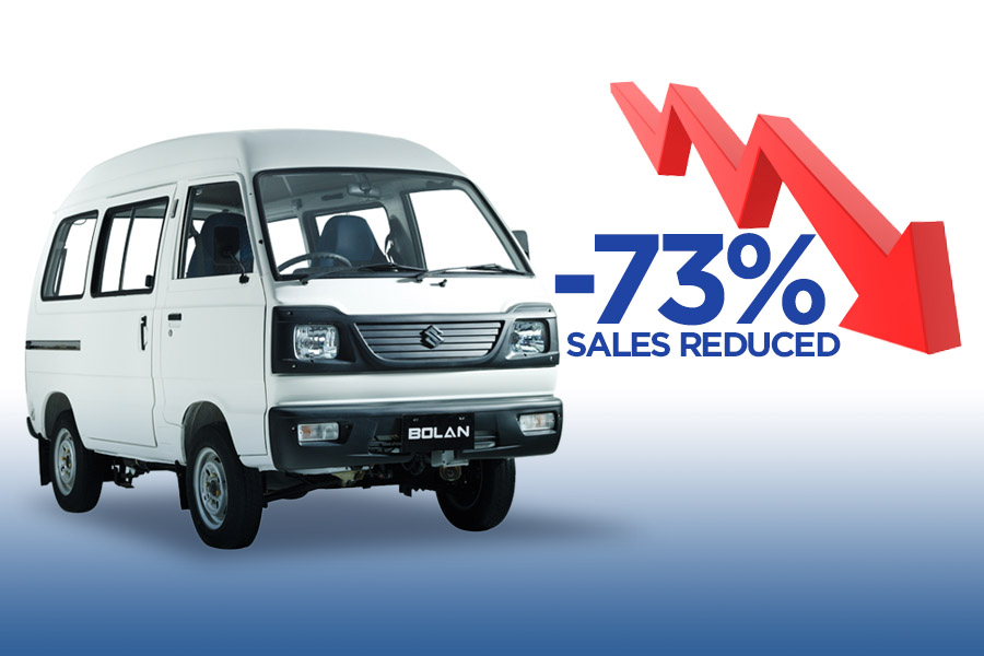 Suzuki Bolan Suffering from -73% Reduction in Sales 3