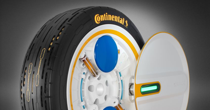 Continental Presents New Self-Inflating Tire Concept 2