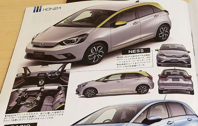 2020 Honda Fit/Jazz Leaked Ahead of Debut 4